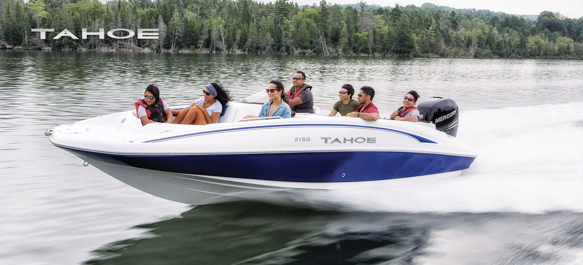 Tahoe 2150 family boating